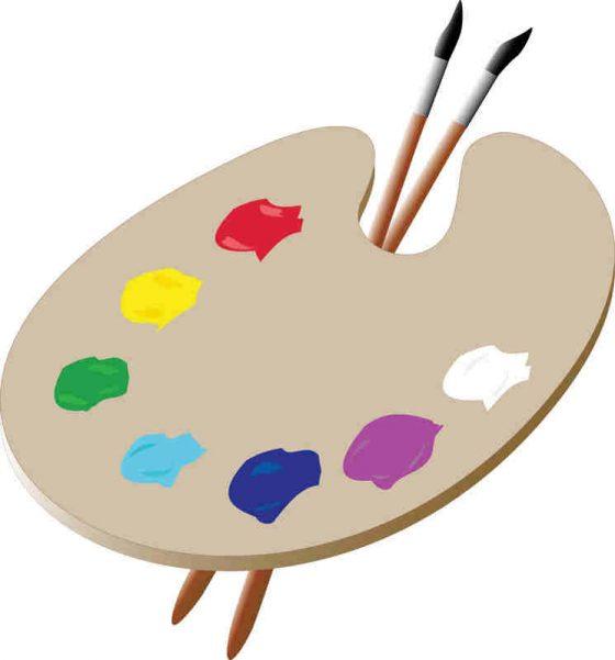 21860e203cc27613e6598d3458355809 Artist Palette Template Artists Clipart 745 800 560x601jpeg